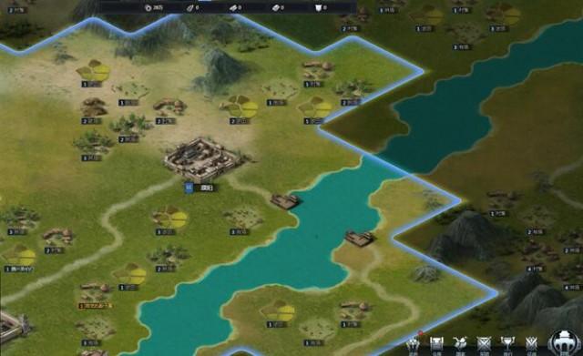 三十六计网页游戏地图