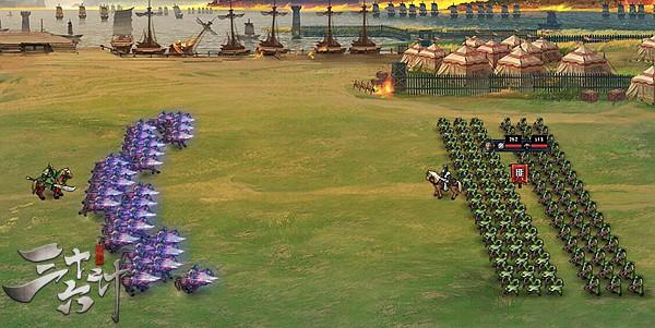 三十六计网页游戏骑兵突击界面