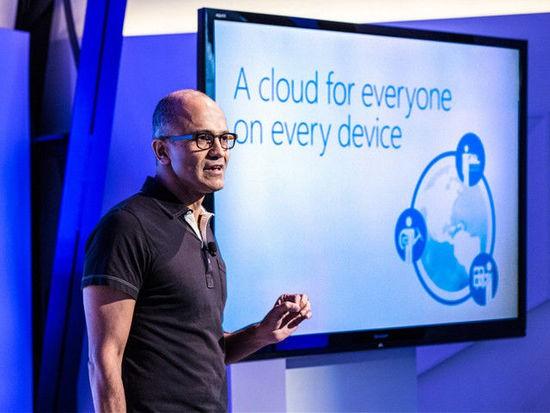 """微软CEO纳德拉提出""""移动优先 云优先""""战略"""