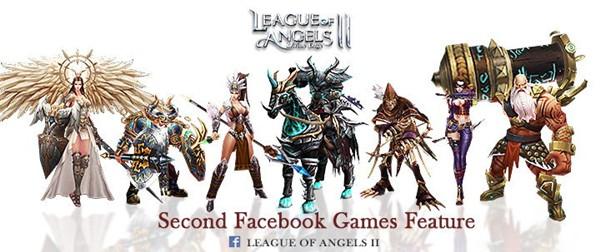 《女神联盟2》获Facebook连续推荐