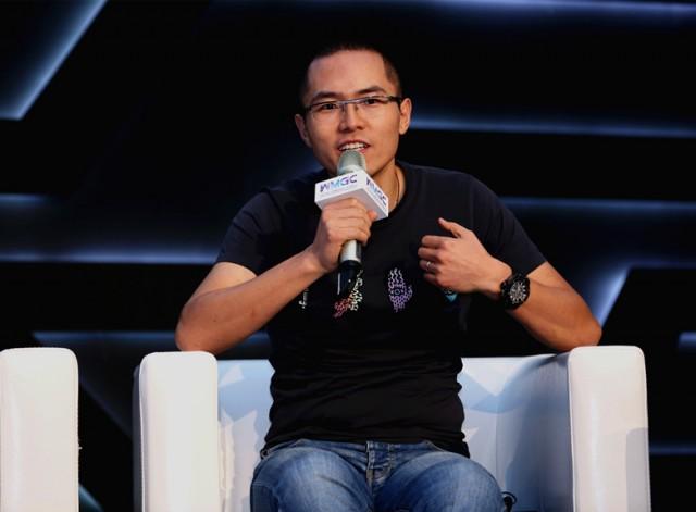 游族网络COO陈礼标在2016WMGC论坛上发言