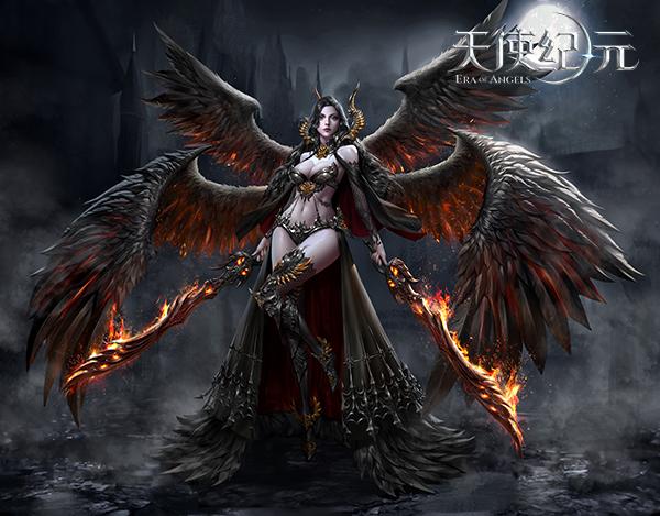 华丽变身,《天使纪元》六大天使图片