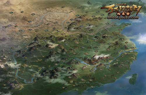 联盟战地图