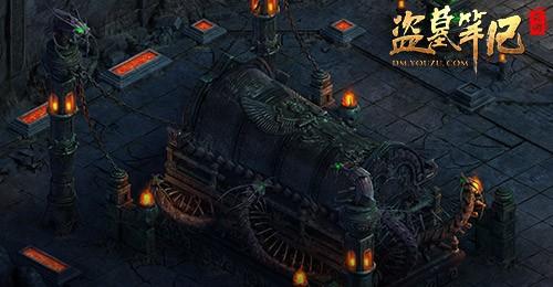盗墓笔记游戏古墓环境画面