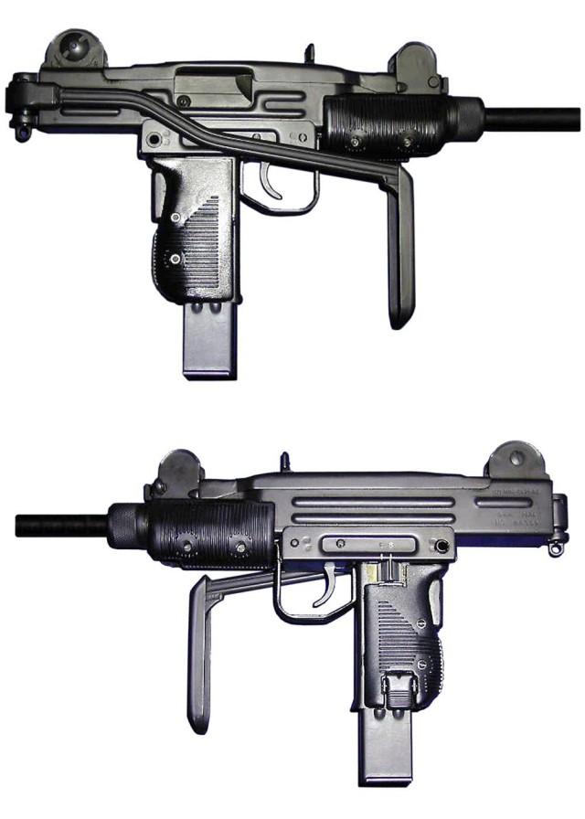 盗墓笔记游戏王胖子武器uzi冲锋枪