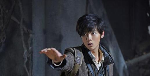 鹿晗在剧中饰演的是盗墓笔记主角吴邪