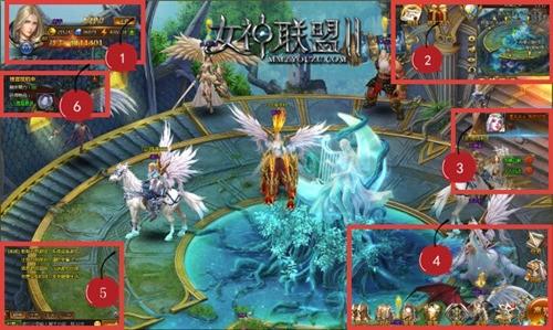《女神联盟2》游戏界面指南