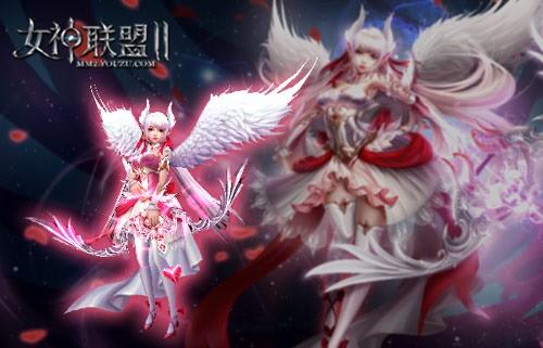 《女神联盟2》 高清建模爱之女神