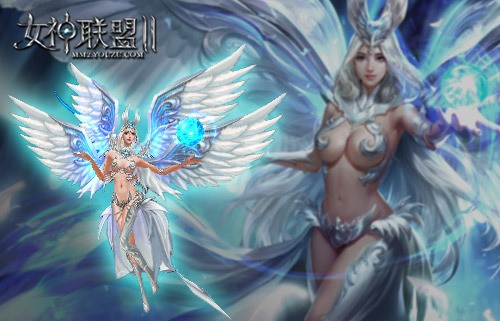 《女神联盟2》 高清建模光明神使