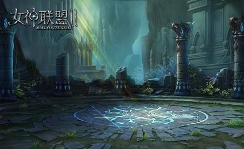 《女神联盟2》 战斗地图月亮神庙
