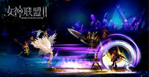 《女神联盟2》命运女神战斗截图