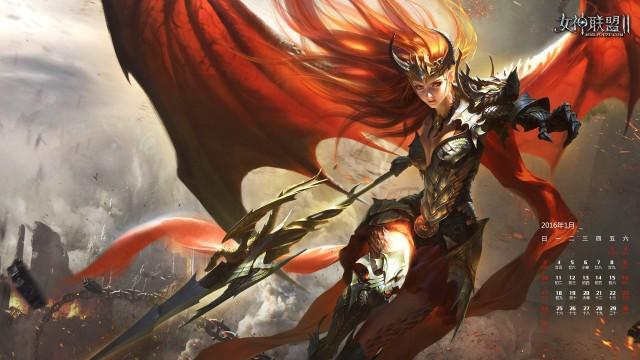 《女神联盟2》龙之女神朝气蓬勃