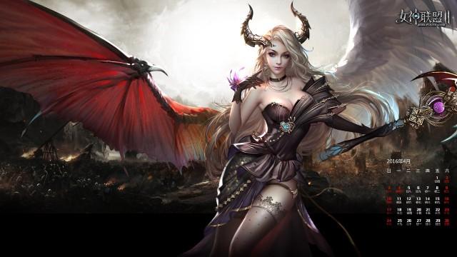 《女神联盟2》虚空女神美妙祝福