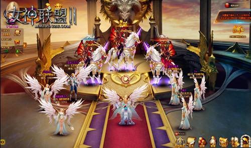 《女神联盟2》竞技场内时装秀
