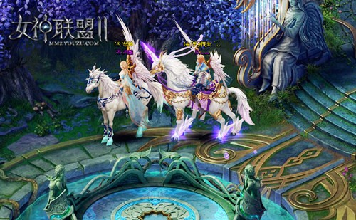 《女神联盟2》妖精之乡天使套装留念