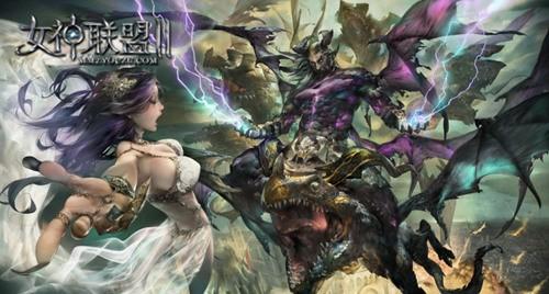 《女神联盟Ⅱ》 大师EAVN LEE绘制海报
