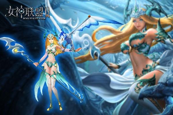 《女神联盟2》银龙公主精美建模