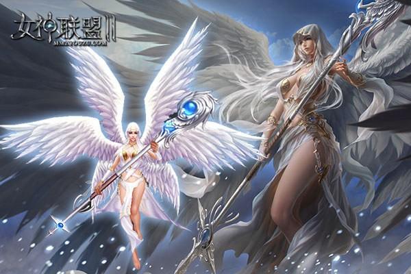 《女神联盟2》 守护女神精美建模