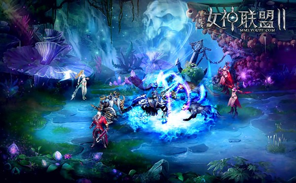 《女神联盟2》战斗截图