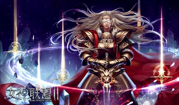 《女神联盟2》红将天启女神