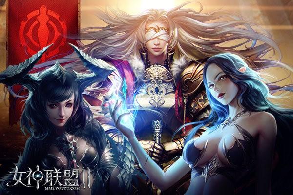 《女神联盟2》隶属风暴王国的女神