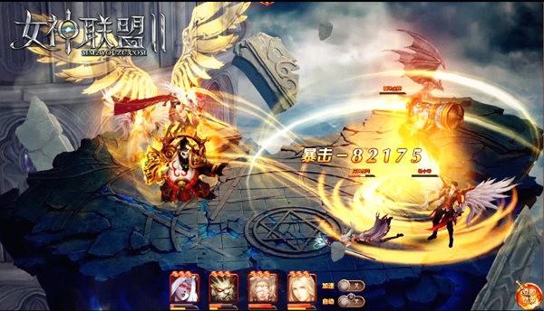 《女神联盟2》天启女神战斗截图