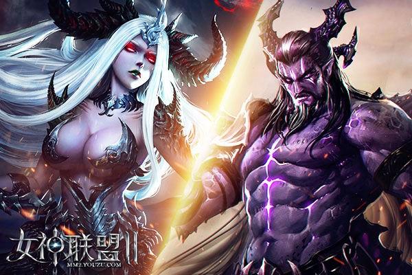 《女神联盟2》黑龙王召唤龙后