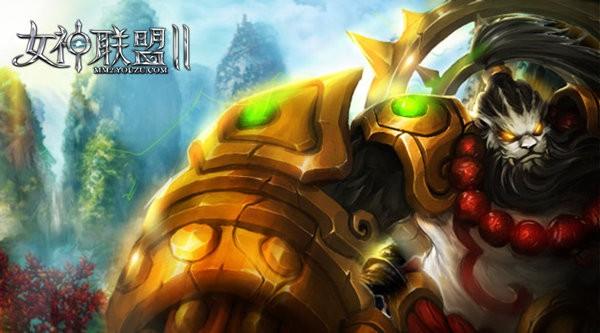 《女神联盟2》红将天禅武仙
