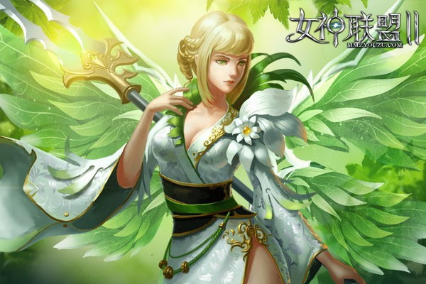 《女神联盟2》新时装翡翠梦境