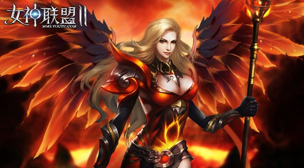 《女神联盟2》圣火时装