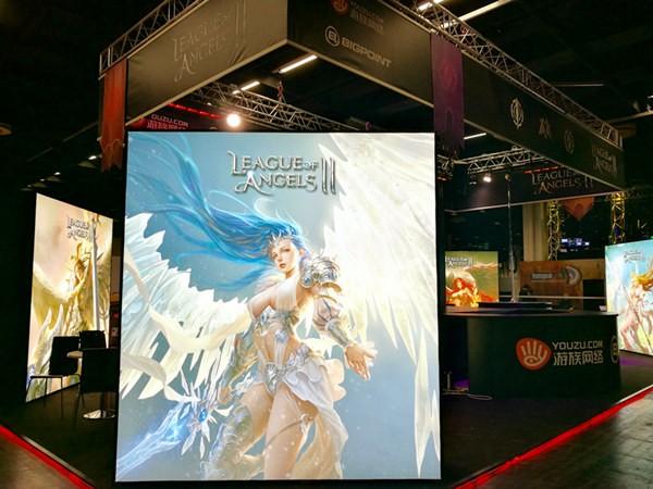 游族Bigpoint《女神联盟2》科隆展现场