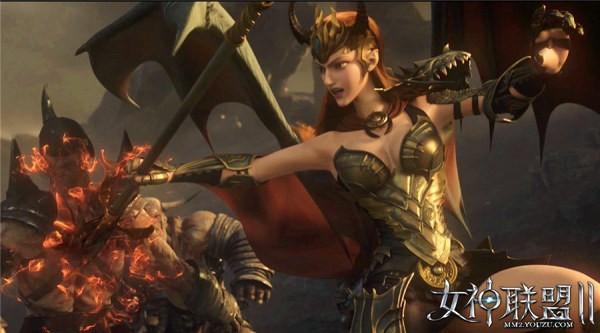 《女神联盟2》电影级品牌CG截图