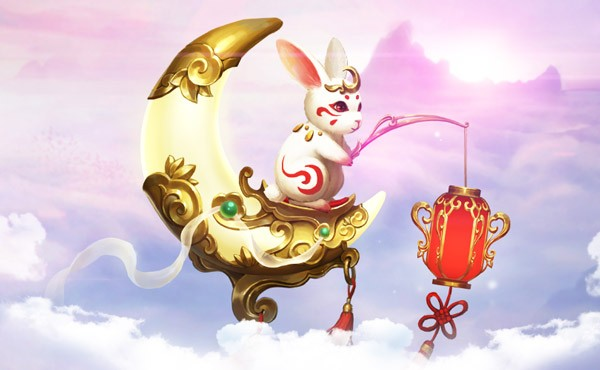 《女神联盟2》战宠月灵兔