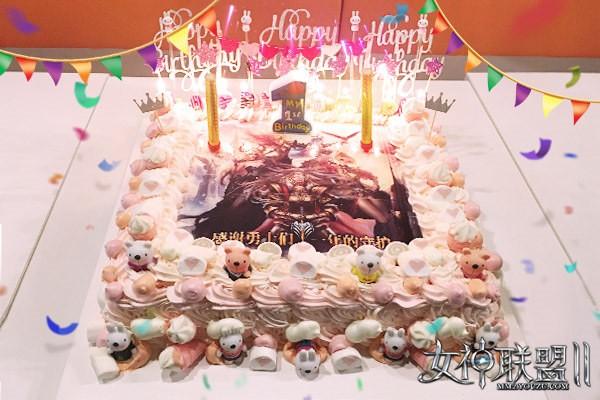 《女神联盟2》周年庆生宴