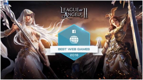 《女神联盟2》获Facebook 2016年度最佳网页游戏