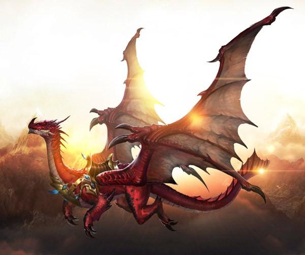 《女神联盟2》飞天魔龙