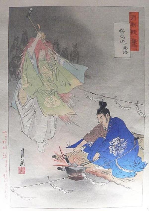 刀剑乱舞中文版小狐丸原型