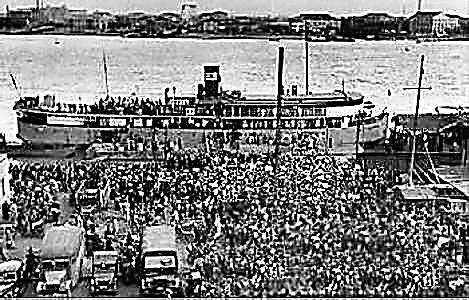 太平轮历史资料照片