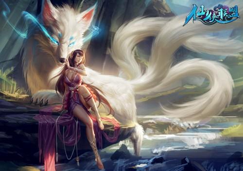 《仙侠联盟》的每一幅画面都是由原画大师精心手绘制作,除了画工精湛