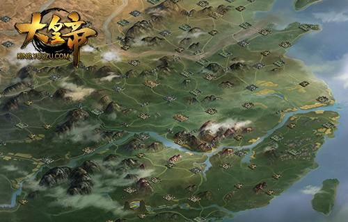 【《大皇帝》世界地图】