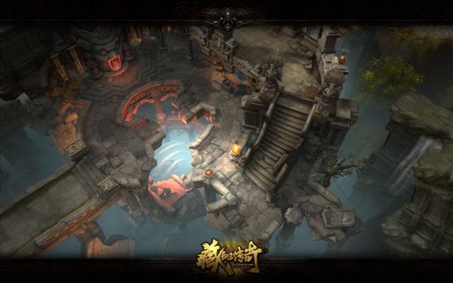 藏地传奇游戏海报