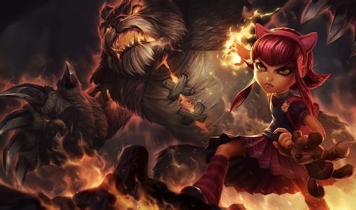 英雄联盟lol黑暗之女游戏海报
