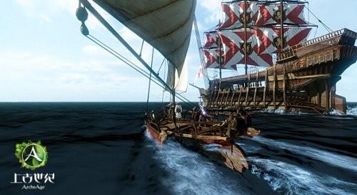 《上古世纪》航海内测海报图
