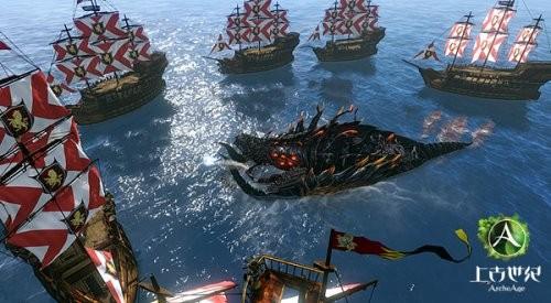 《上古世纪》航海内测boss截图