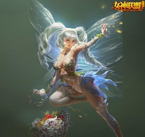 女神联盟手游小花仙女神
