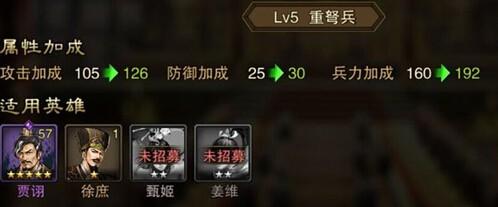 大皇帝OL兵种科技