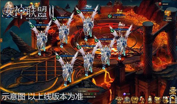 《女神联盟2》决赛界面