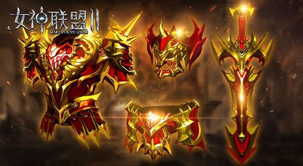 《女神联盟2》崭新红装