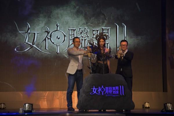 《女神联盟2》 港澳台公测发布会现场