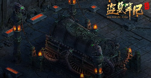 盗墓笔记游戏经典古墓场景游戏截图